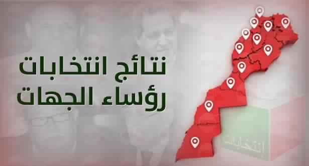 Photo of النتائج الرسمية لانتخاب رؤساء الجهات