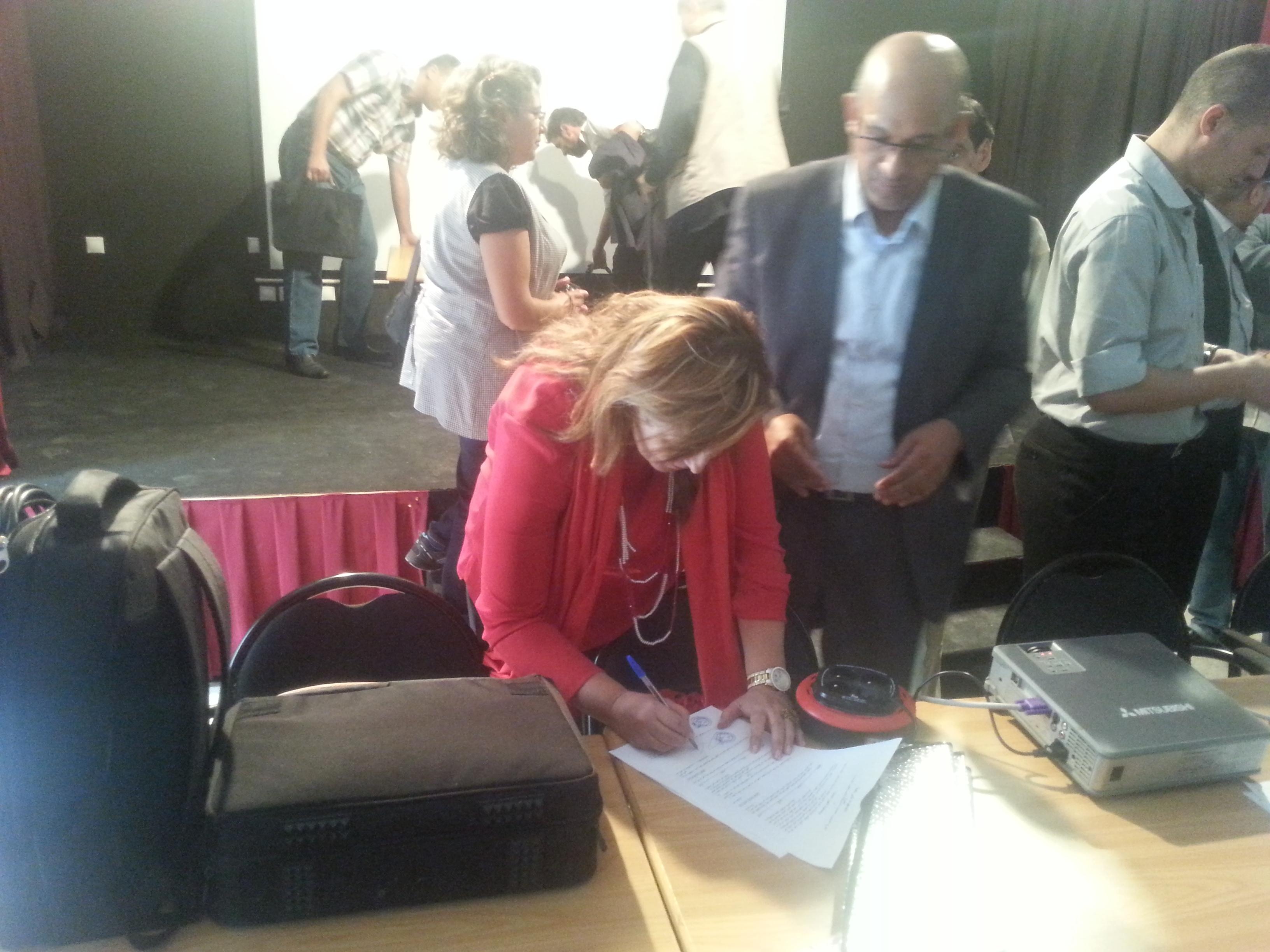 Photo of اتفاقية شراكة  بين الفرع الجهوي للنقابة المستقلة للصحافيين المغاربة وجمعية العين الثالثة للمصورين الصحافيين