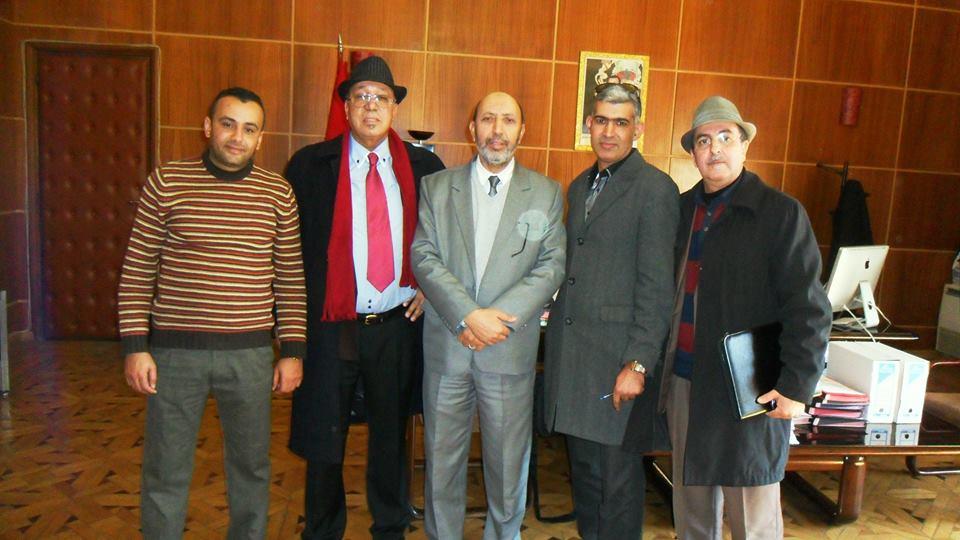 Photo of عمدة مراكش يستقبل وفدا عن الفرع الإقليمي للنقابة المستقلة للصحافيين المغاربة بجهة مراكش اسفي