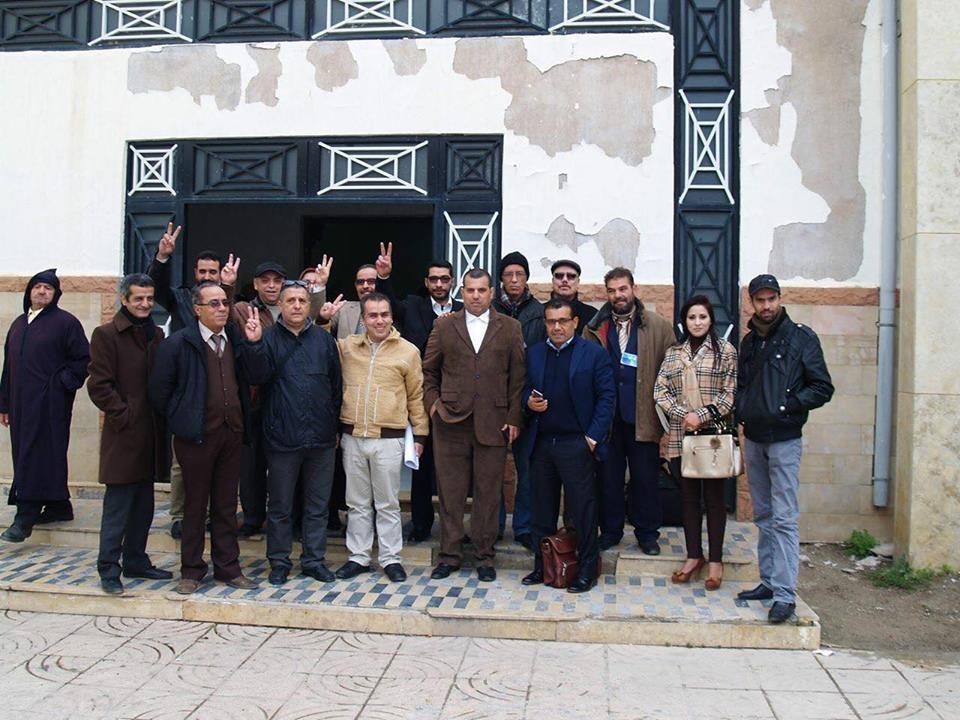 Photo of تازة : الإعلاميون ينظمون وقفة تضامنية مع الزميلين المتابعين قضائيا