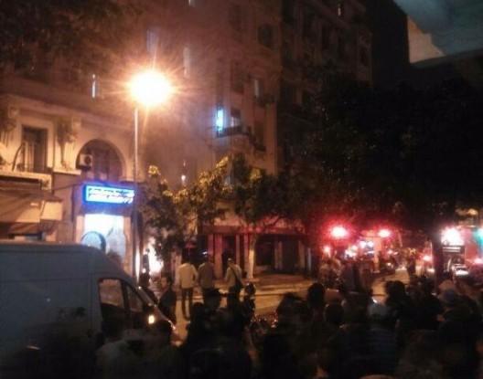 Photo of الدارالبيضاء صوت انفجار قوي داخل فندق ماجيستيك يروع الشارع العام
