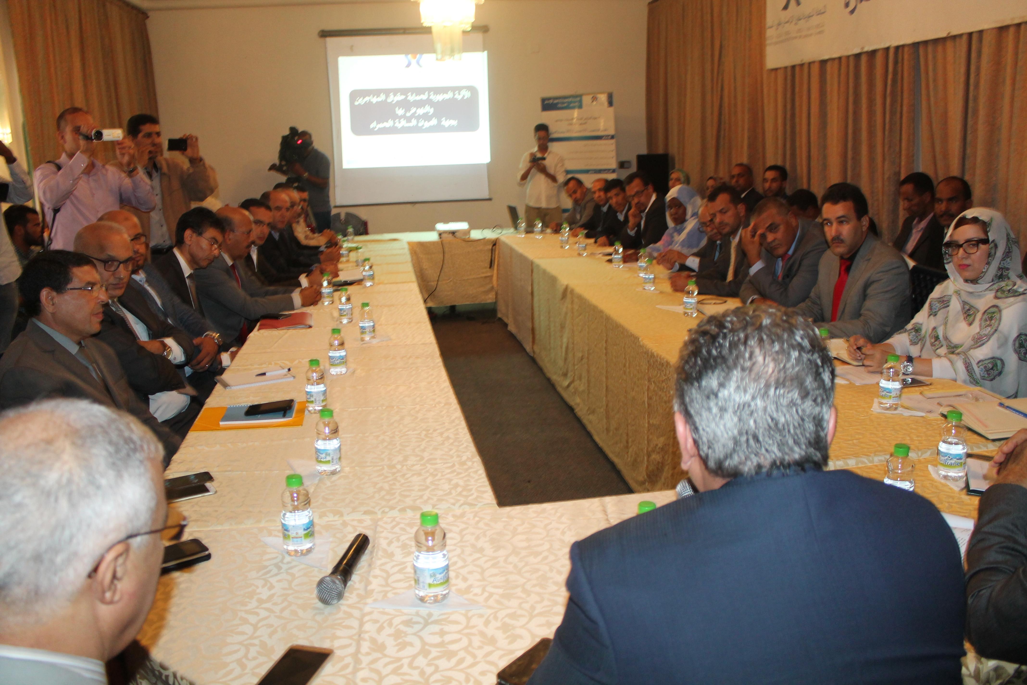 Photo of اجتماع موسع للآلية الجهوية لحماية حقوق المهاجرين والنهوض بها