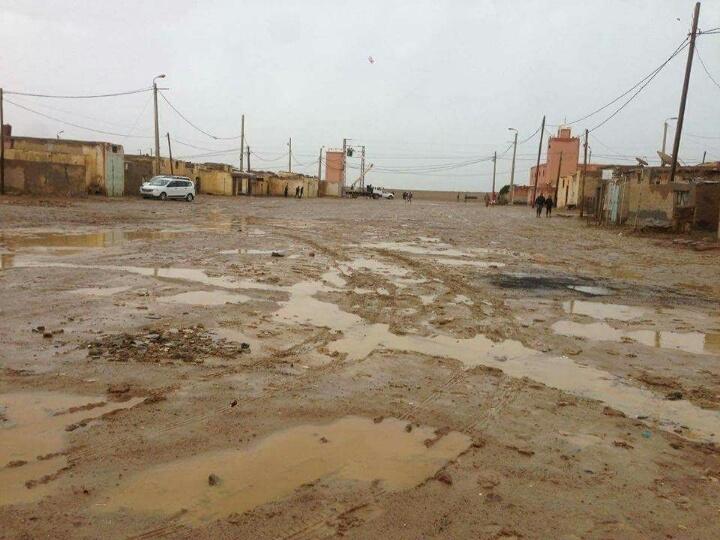 Photo of السمارة / زخات من أمطار الخير تكشف عن ضعف البنية التحتية