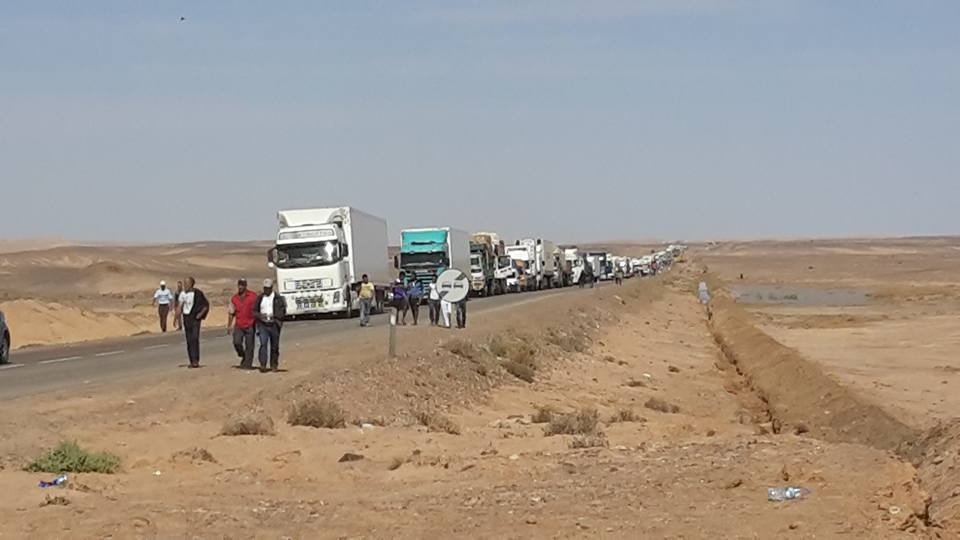 Photo of السمارة / هذا هو عدد المركبات التي عبرت الطريق الوطنية رقم 14 بعد ترميمها
