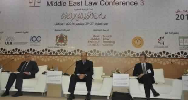 Photo of الصحراء المغربية في منظور القانون الدولي، محور جلسة علمية بمؤتمر القانون بالشرق الأوسط