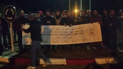Photo of وقفة احتجاجية ضد لوبي سرقة الرمال