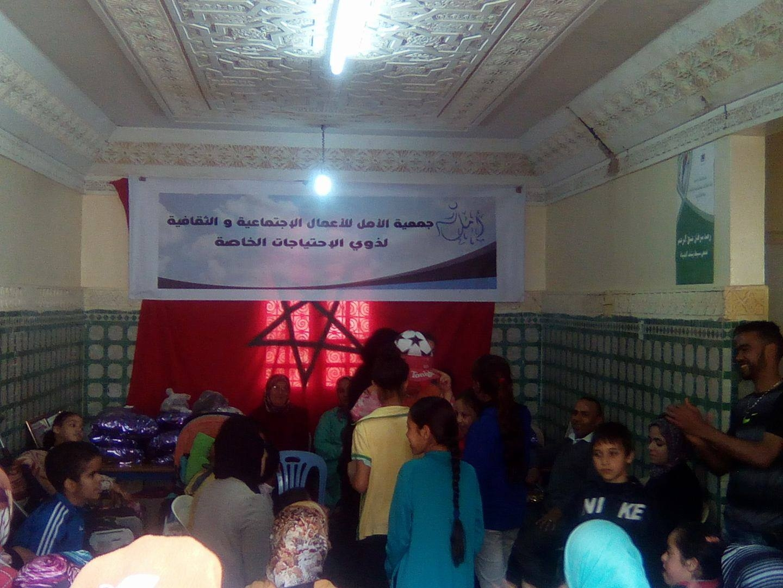 Photo of جمعية الآمل للأعمال الاجتماعية والثقافية لذوي الاحتياجات الخاصة ترسم الفرحة على وجوه الأطفال