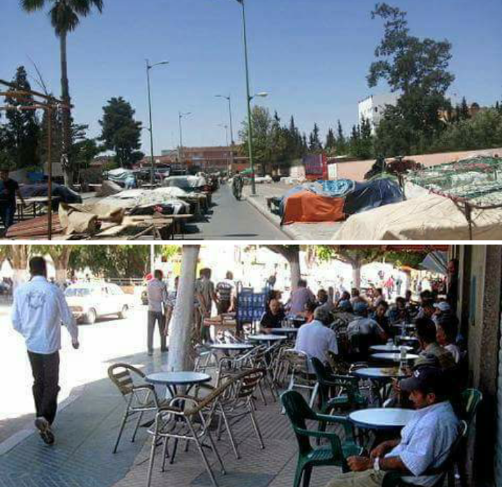 Photo of ظاهرة الترامي على الملك العمومي بمدينة اليوسفية تعود مجددا إلى واجهة النقاش