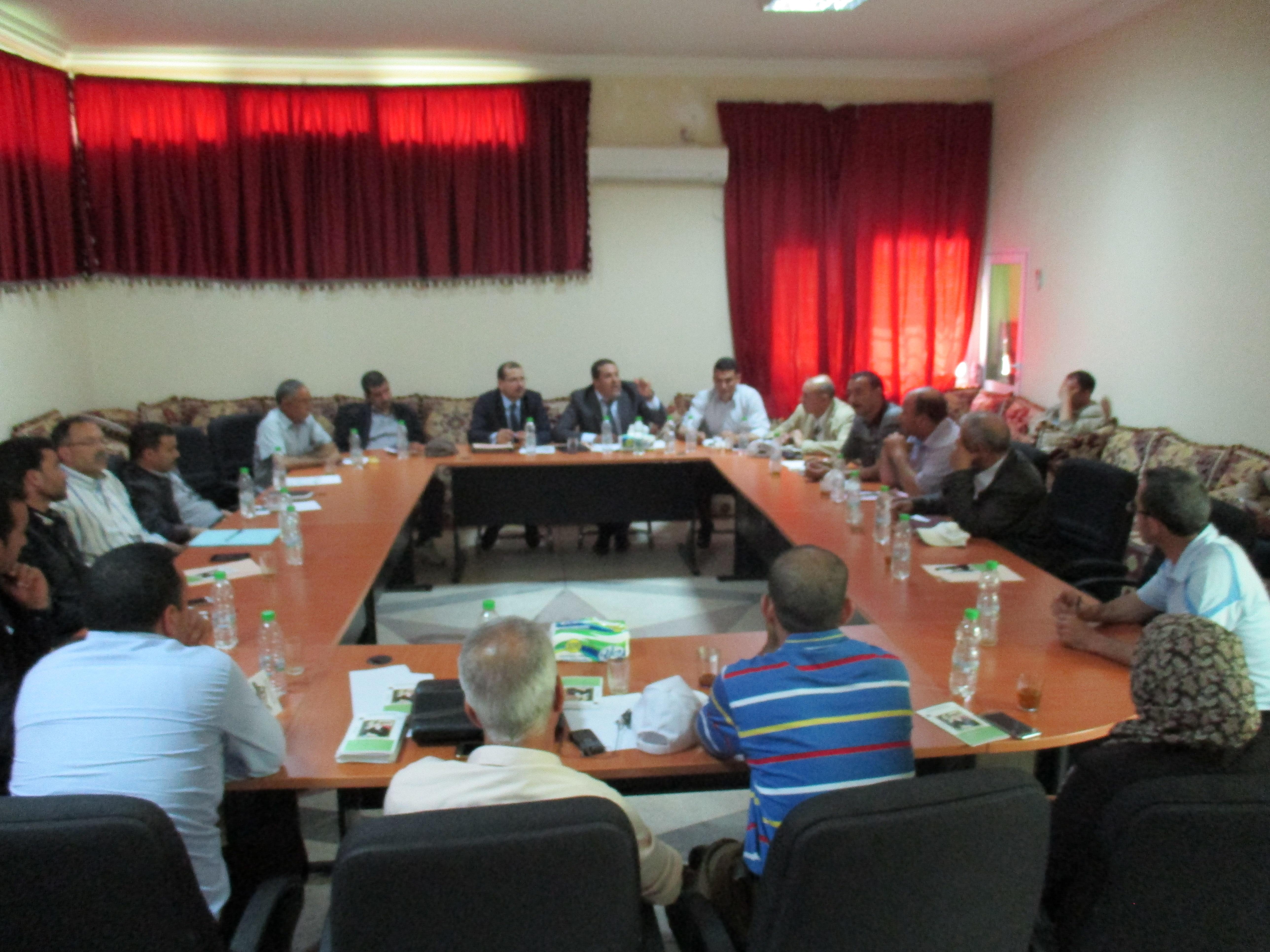 Photo of لقاءات تواصلية حول تدبير برنامج محاربة الفقر بالوسط القروي بإقليم تاونات