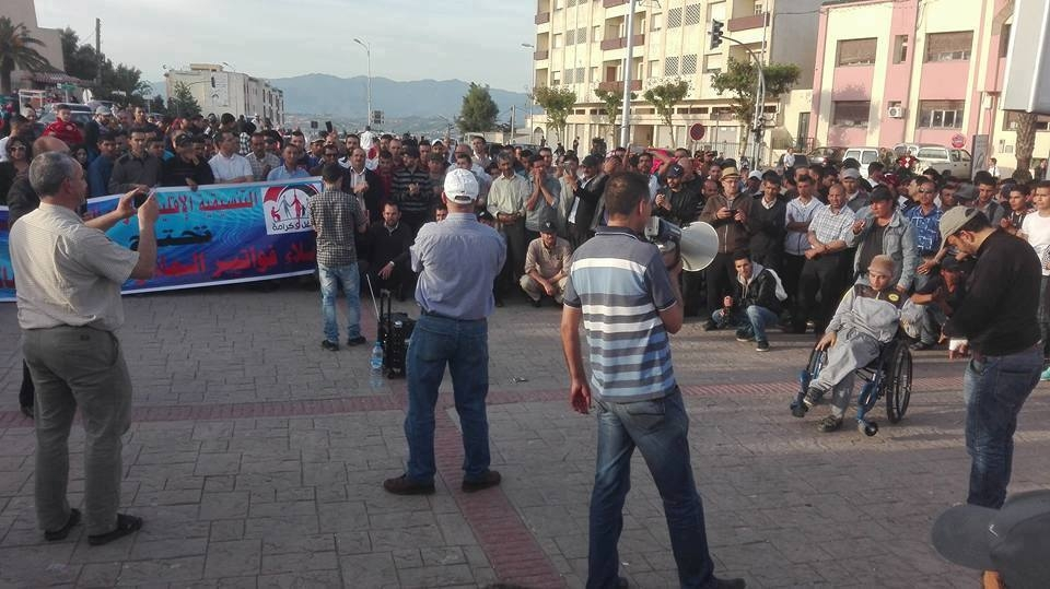 Photo of ساكنة تاونات تتظاهر من أجل الكرامة