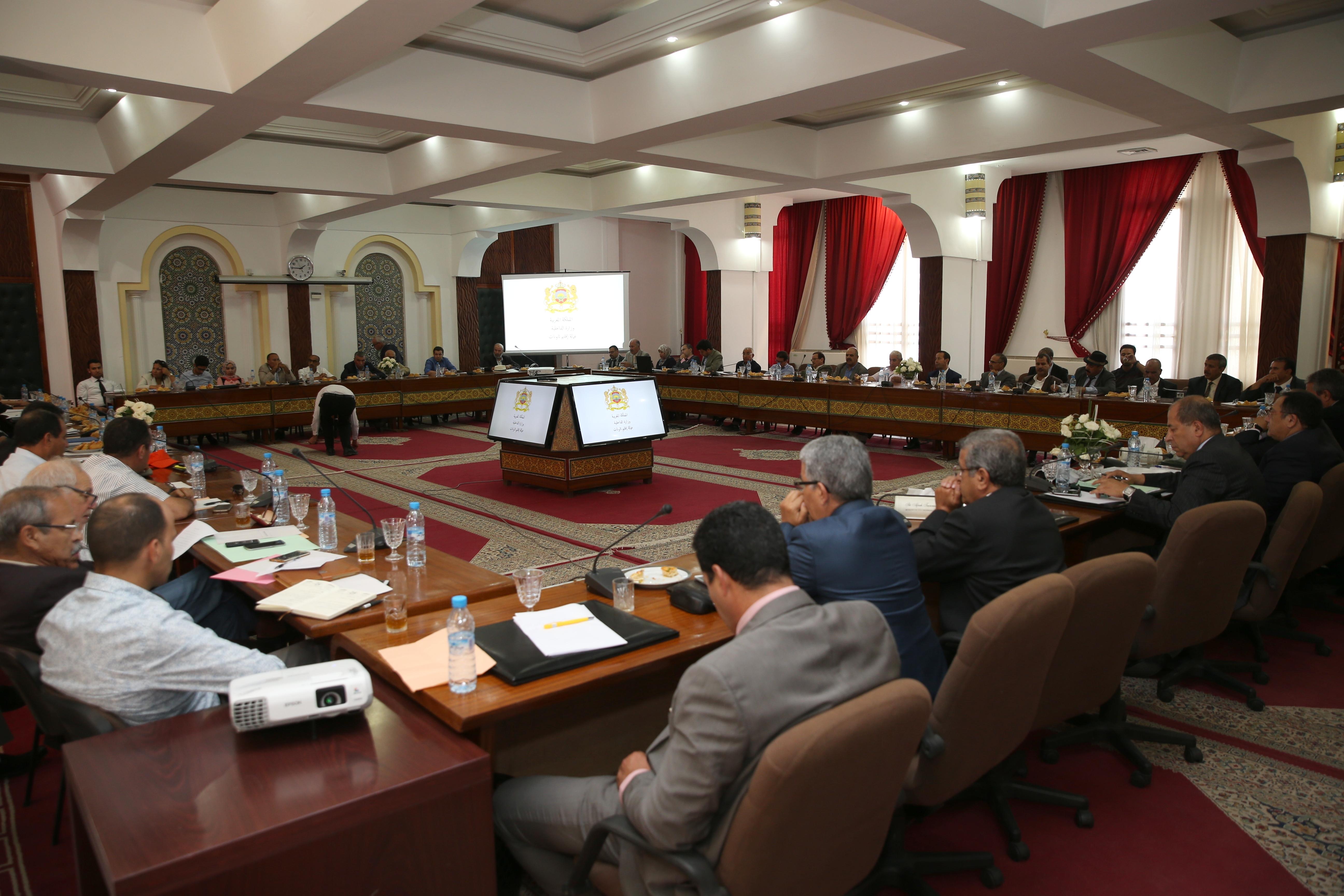 Photo of بلاغ حول عقد لقاء تواصلي على مستوى إقليم تاونات  مع رؤساء المجالس الترابية بالإقليم