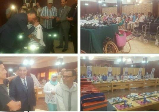 Photo of الفقيه بن صالح /  توزيع معدات وأدوات عمل على ذوى الاحتياجات الخاصة