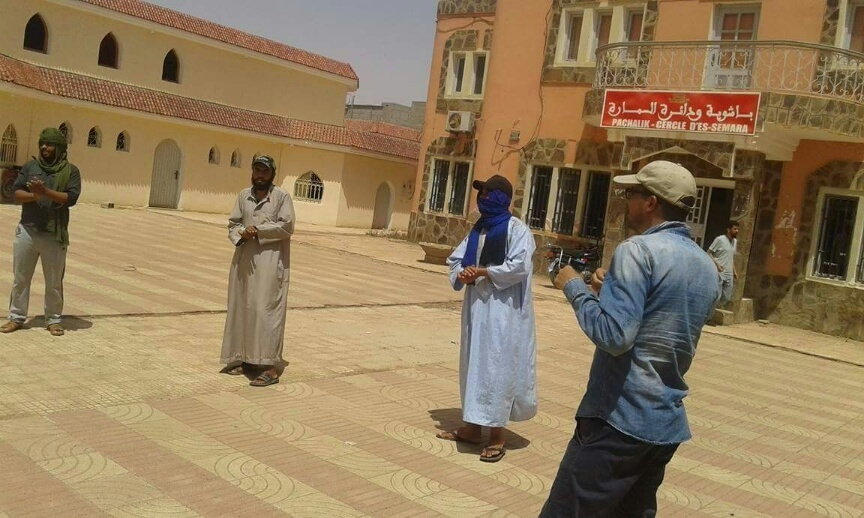 Photo of الإحباط والألم يخرجان شباب مخيم الكايز للاحتجاج