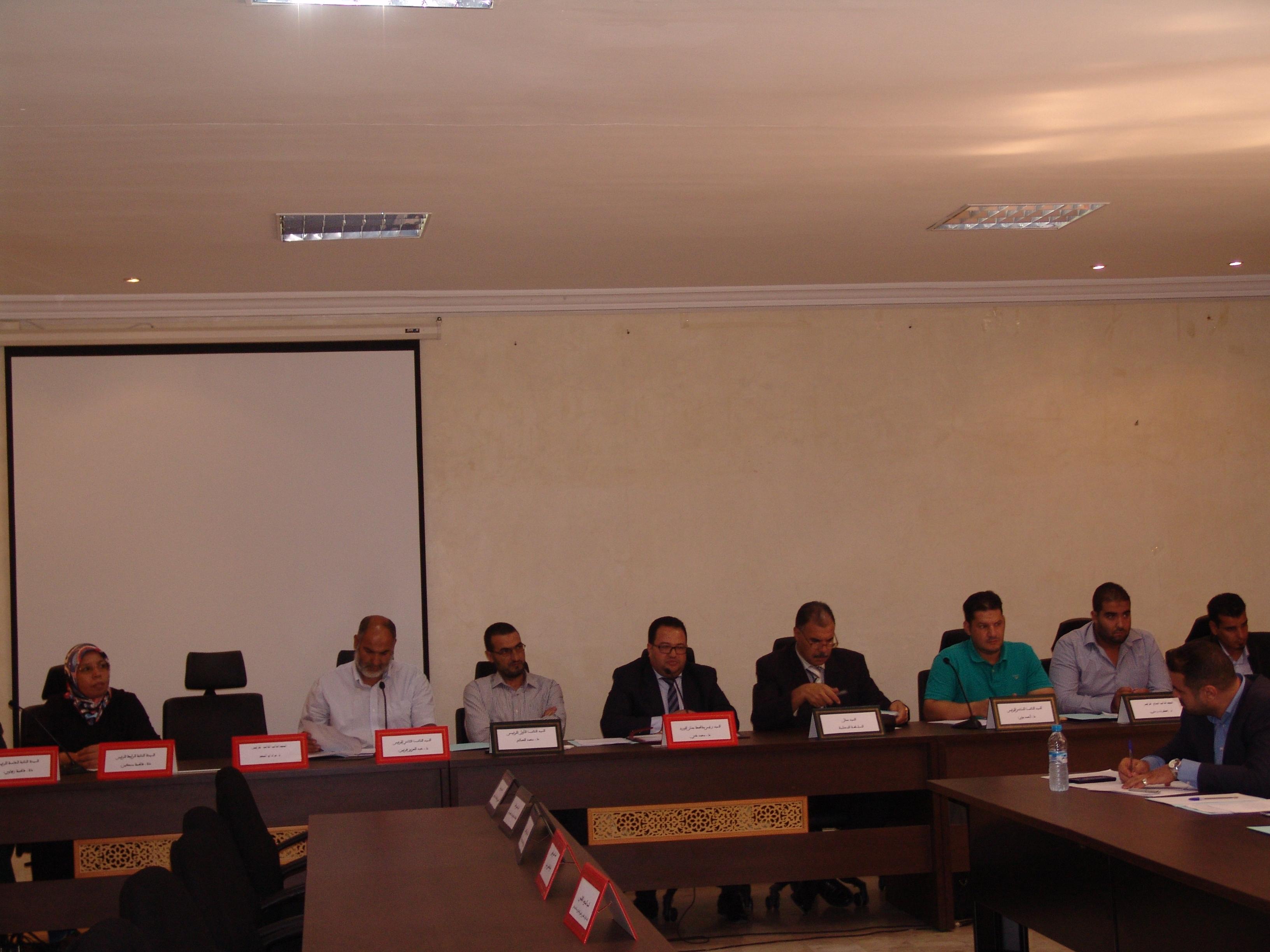 Photo of مجلس مقاطعة جنان الورد يعقد دورة شتنبر العادية
