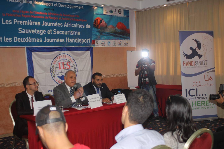 Photo of أفارقة ومغاربة من ذوي الاحتياجات الخاصة في تكوينات لاكتساب أساليب وتقنيات الإنقاذ والإسعاف بوجدة