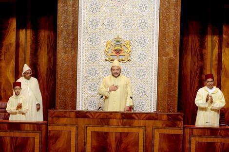 Photo of صاحب الجلالة الملك محمد السادس يوجه خطابا ساميا إلى البرلمانيين