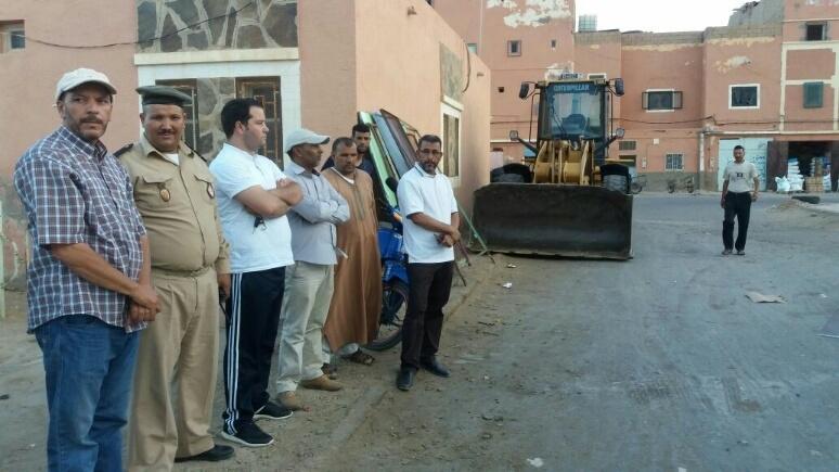 Photo of السلطات المحلية تواصل شن حملات تحرير الملك العمومي