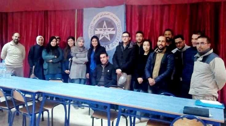 Photo of تأسيس مكتب نقابي للجامعة الوطنية للصحة- إ.م.ش- باوطاط الحاج