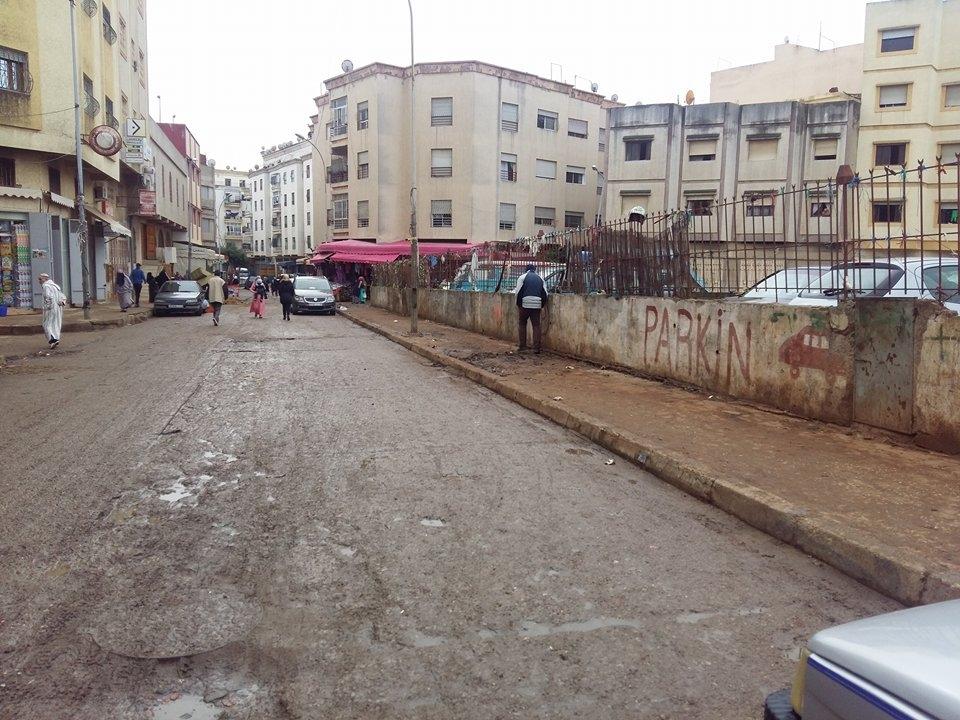 Photo of حملة تحرير الملك العمومي بحي بنكيران وارتياح الساكنة  للعملية
