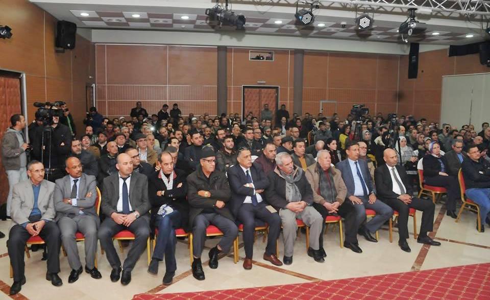 Photo of الميلودي المخارق ضيف بيت الصحافة بطنجة