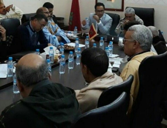 Photo of السمارة / اجتماع حول مكانة برنامج عمل الجماعة