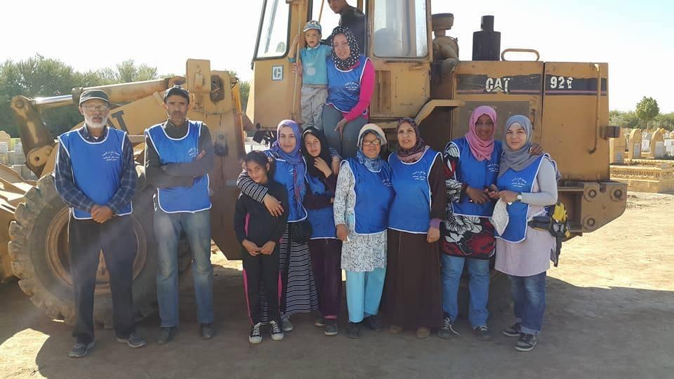 Photo of سيدي سليمان / جمعية إكرام الميت وحماية مقابر المسلمين تكرّم النساء الأرامل