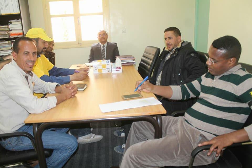 Photo of طاطا / ك د ش النقابة الوطنية للتعليم تصدر بلاغ جلسة حوار مع المدير الإقليمي