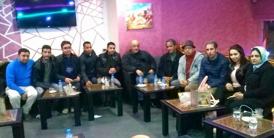 Photo of الأمانة العامة للنقابة المستقلة للصحافيين المغاربة في زيارة الفرع الإقليمي مكناس