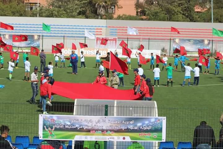 Photo of الحسين شاينان و سامي المليوي يفتتحان النسخة الثانية من البطولة المحلية لكرة القدم