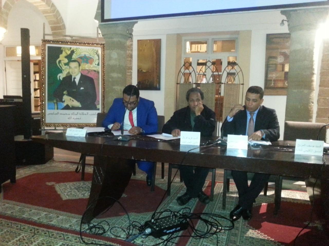Photo of فضاء دار الصويري يحتضن يوما تكوينيا  من تنظيم النقابة المستقلة للصحافيين المغاربة