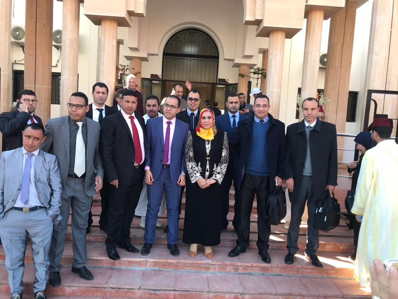 Photo of إقليم الفقيه بن صالح  / تنصيب قضاة ضمنهم امرأة