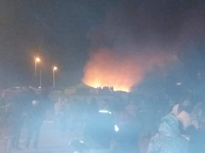 Photo of أسفي / اندلاع حريق مهول بسوق كاوكي يسبب خسائر مادية جسيمة في ممتلكات التجار