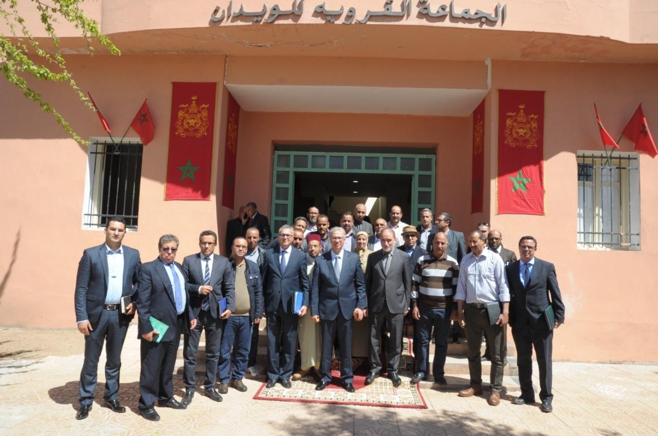 Photo of والي جهة مراكش أسفي في لقاءات تواصلية