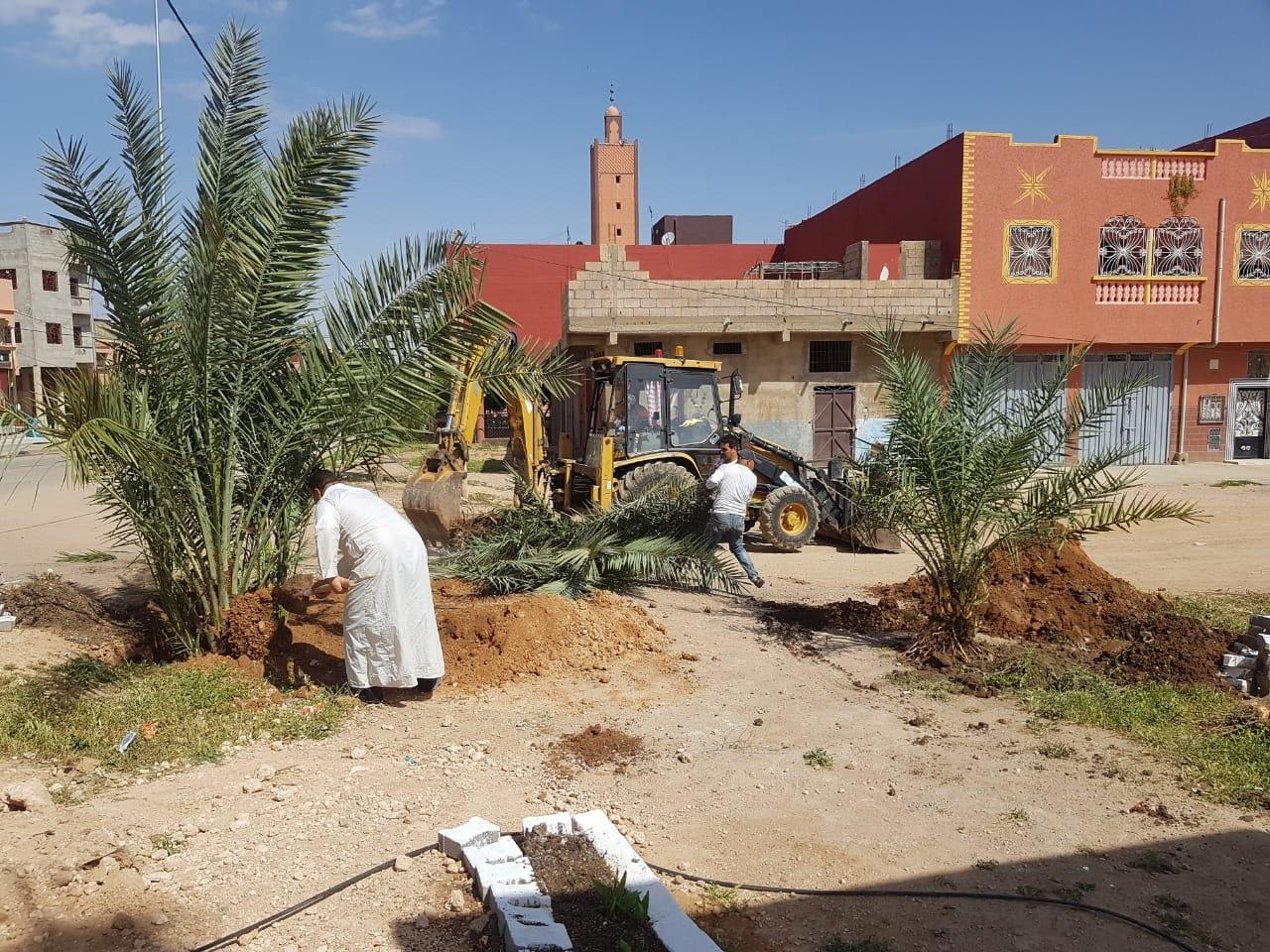 Photo of مبادرة تطوعية لتنظيف وتشجير وصباغة مقبرة الرحمة بأولاد سعيد الواد ..!