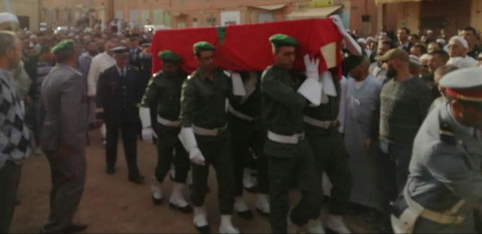Photo of مدينة تنغير تودع المجند في إطار الخدمة العسكرية
