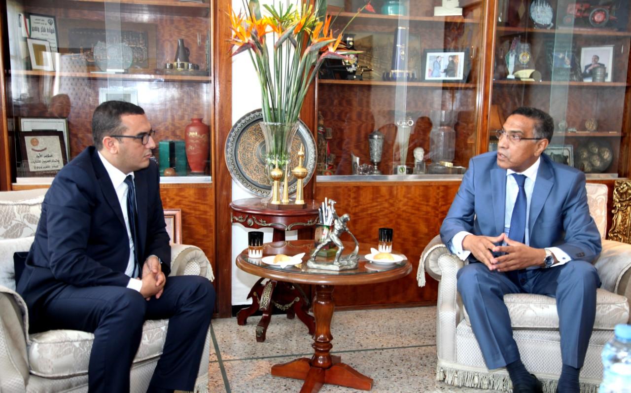 Photo of الدارالبيضاء / بــــــلاغ حول زيارة وزير الشغل والإدماج المهني إلى المقر المركزي للاتحاد المغربي للشغل