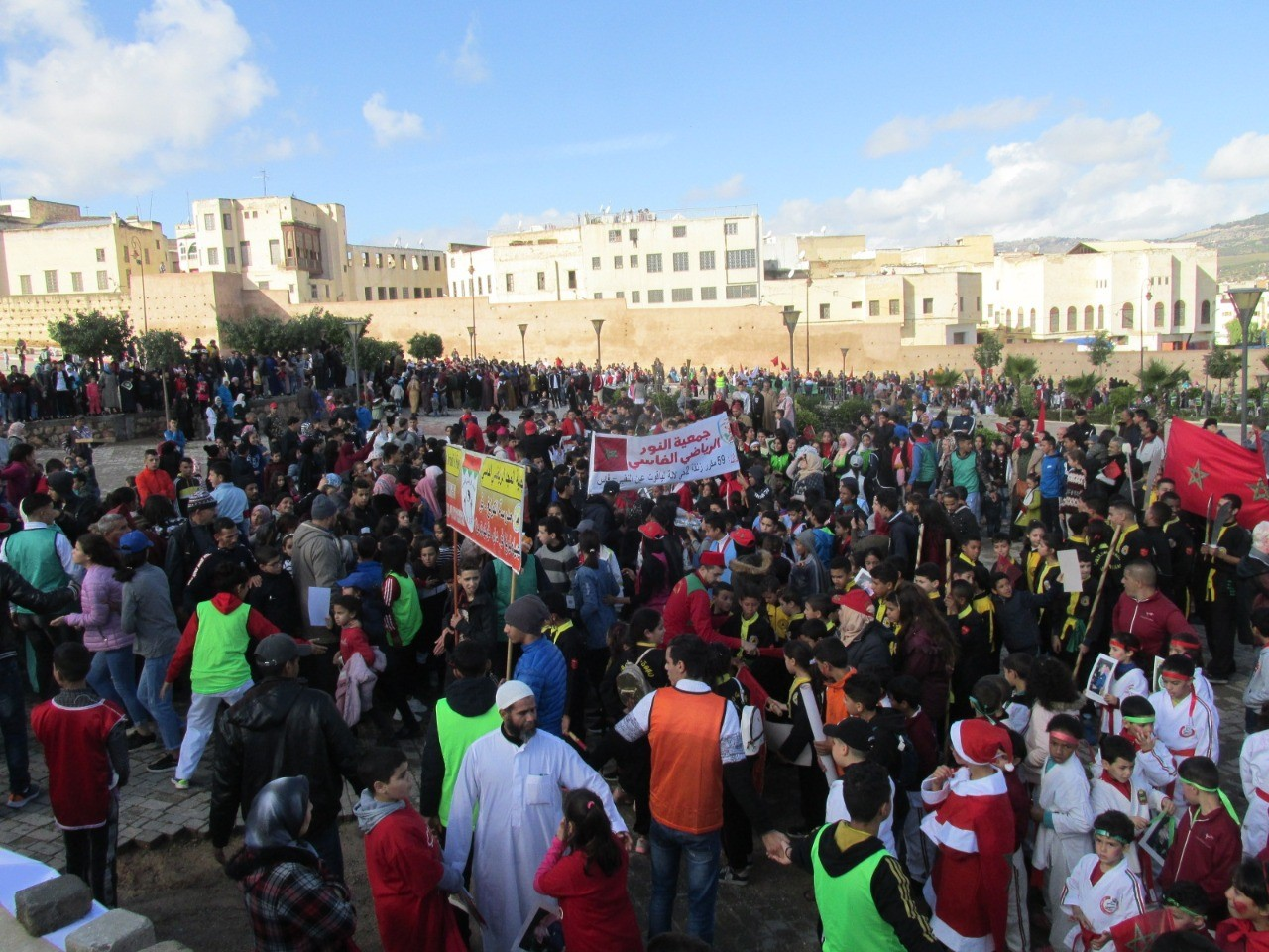 Photo of فــاس / احتفالات جمعيات المجتمع المدني بالأعياد الوطنية