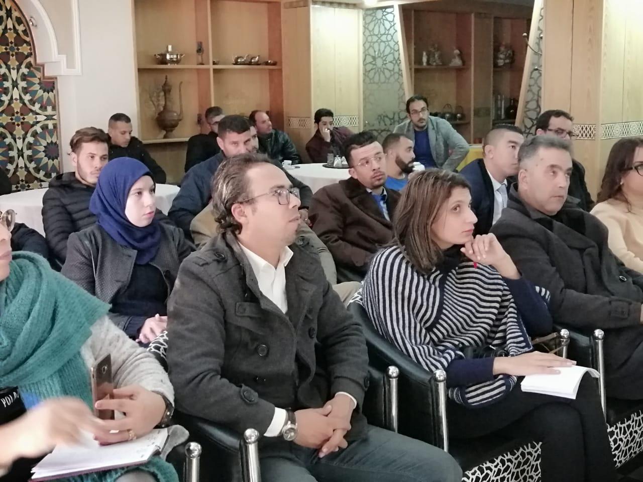 Photo of انطلاق الدورة التكوينية لفائدة مجموعة من الصحافيين من مختلف ربوع الجهة الشرقية