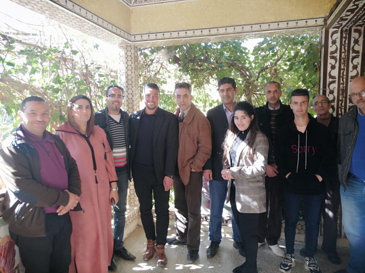 Photo of جرادة / تأسيس الفرع الإقليمي  للنقابة المستقلة للصحافيين المغاربة