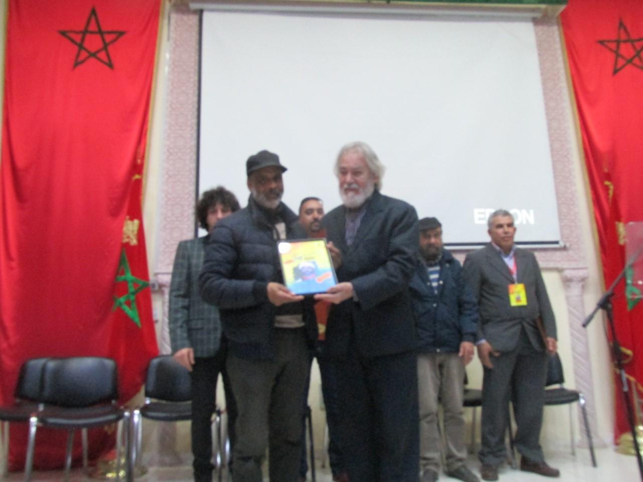 Photo of فاس / تكريم المسرحي فريد البوزيدي