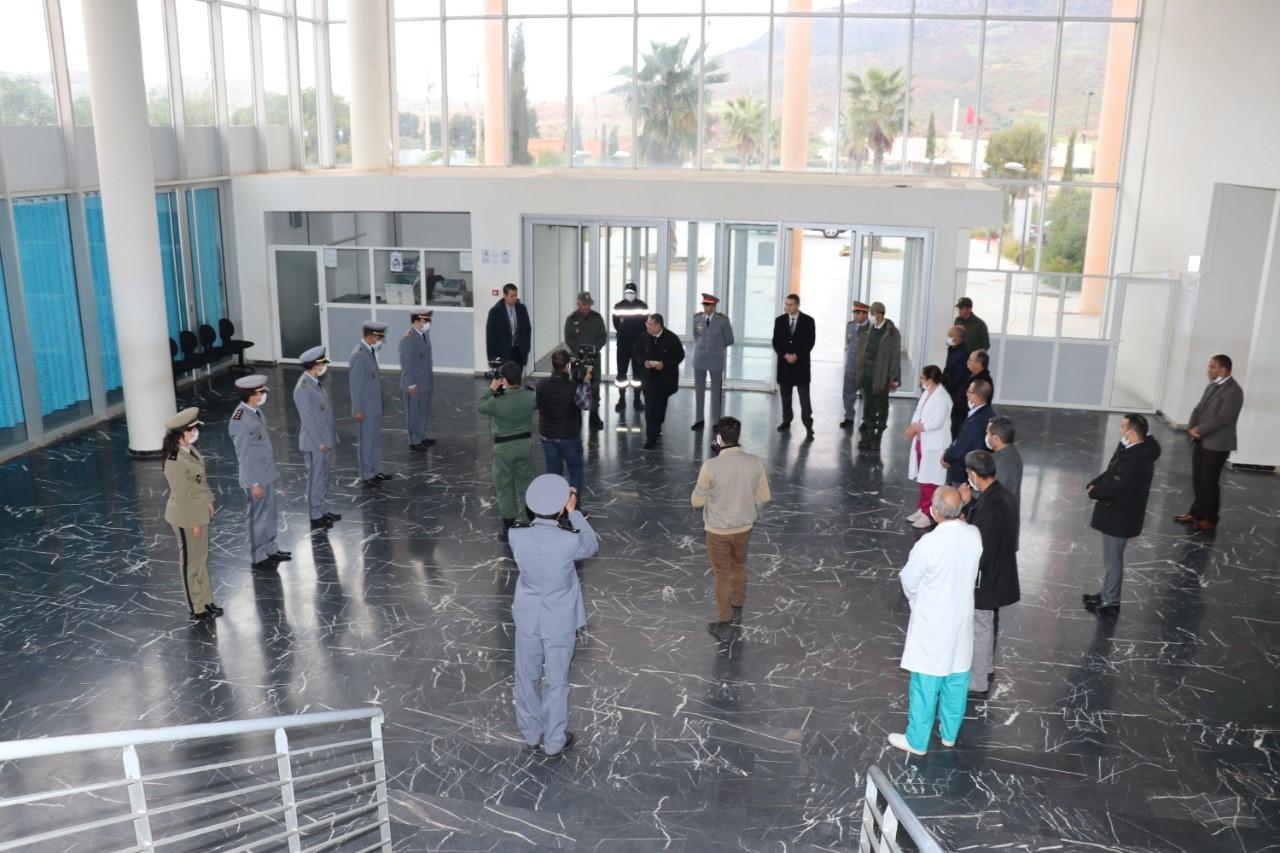 Photo of خنيفرة / عامل الإقليم في زيارة للمستشفى الإقليمي