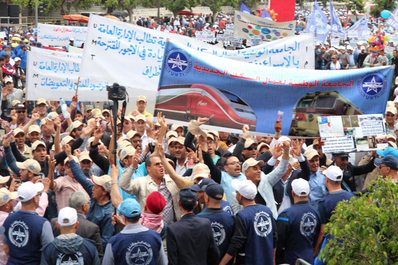 Photo of بـيان الجامعة الوطنية لعمال السكك الحديدية