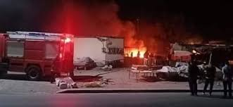 Photo of تـــازة / مرة أخرى حريق في المركب التجاري بحي القدس يسائل الجهات المعنية ..!