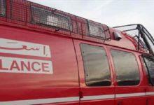 Photo of خنيفرة  طريق تالحيانت / إصابات خطيرة في اصطدام حافلة بدراجة نارية