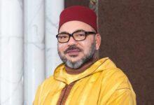 Photo of برقية تهنئة مرفوعة إلى جلالة الملك محمد السادس  بمناسبة الذكرى ال.41 لاسترجاع إقليم وادي الذهب
