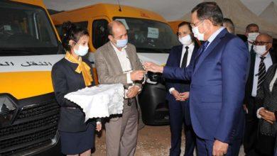 Photo of بني ملال / توزيع 131 حافلة  للنقل المدرسي لفائدة الجماعات القروية