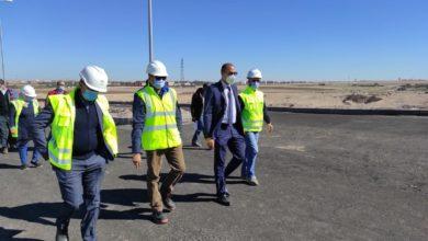 Photo of مدير موقع الكنتور في زيارة ميدانية لمشروع القطب الفلاحي (اكربول) لمدينة ابن جرير
