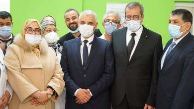 Photo of الناظور / وزير الصحة يتفقد المركز الصحي المسجد
