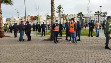 Photo of الناظور / القوات العمومية تمنع الشباب من تخليد الذكرى العاشرة لحركة 20 فبراير + فيديو