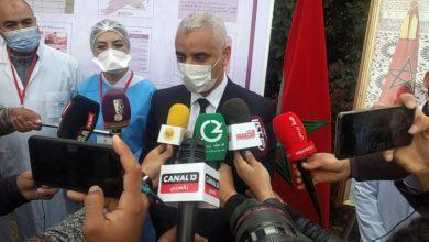 Photo of جرسيف / وزير الصحة وعامل إقليم جرسيف في  زيارة تفقدية للمراكز التلقيح